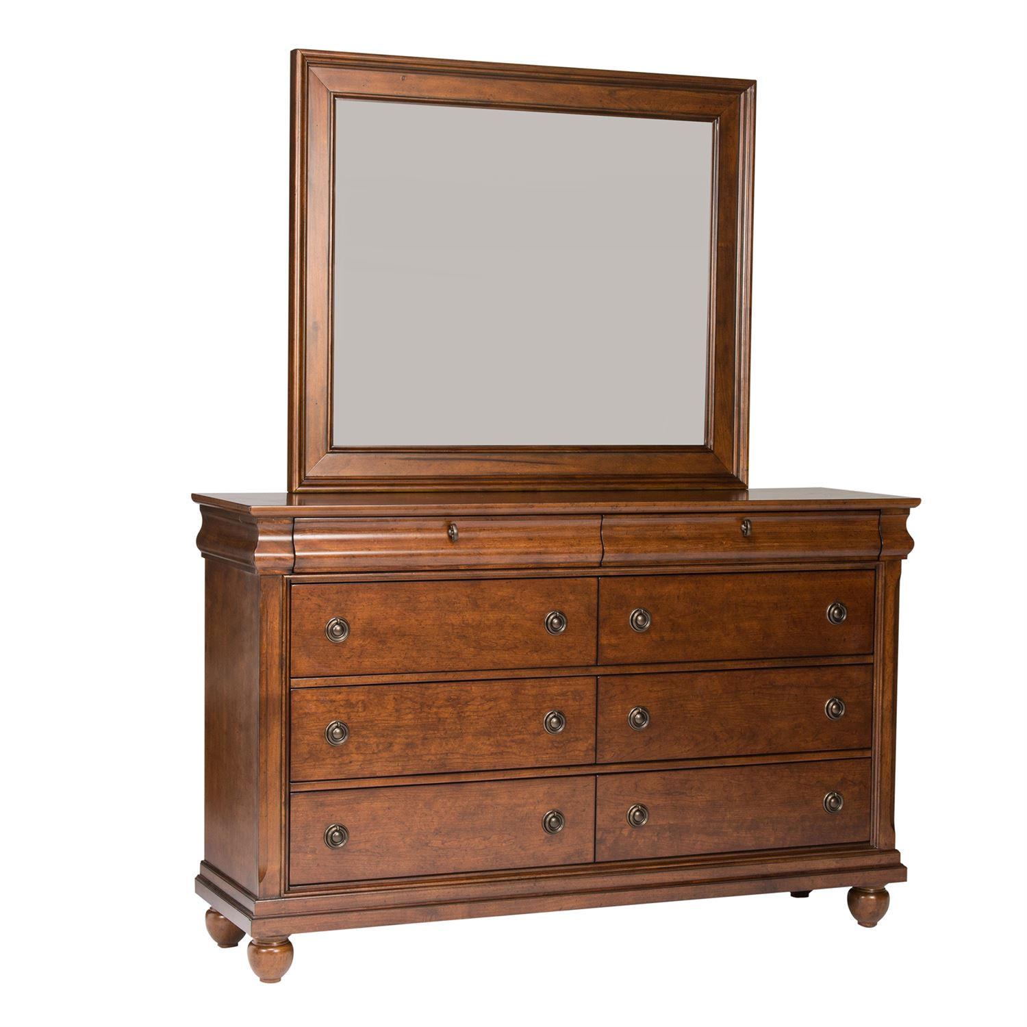 8 Drawer Dresser and Mirror