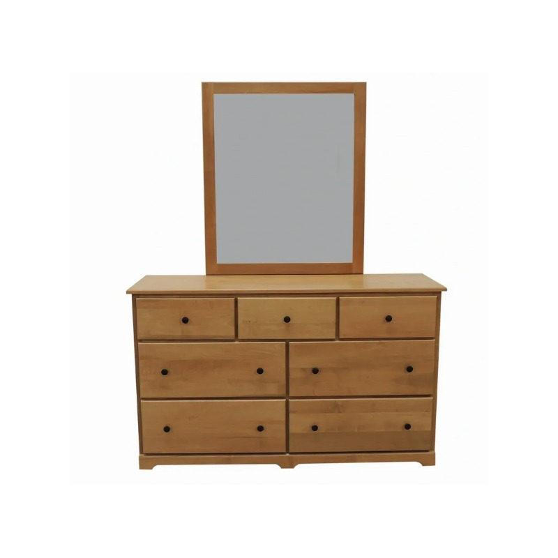 MaineCraft Lakeside 7 Drawers Dresser and Mirror