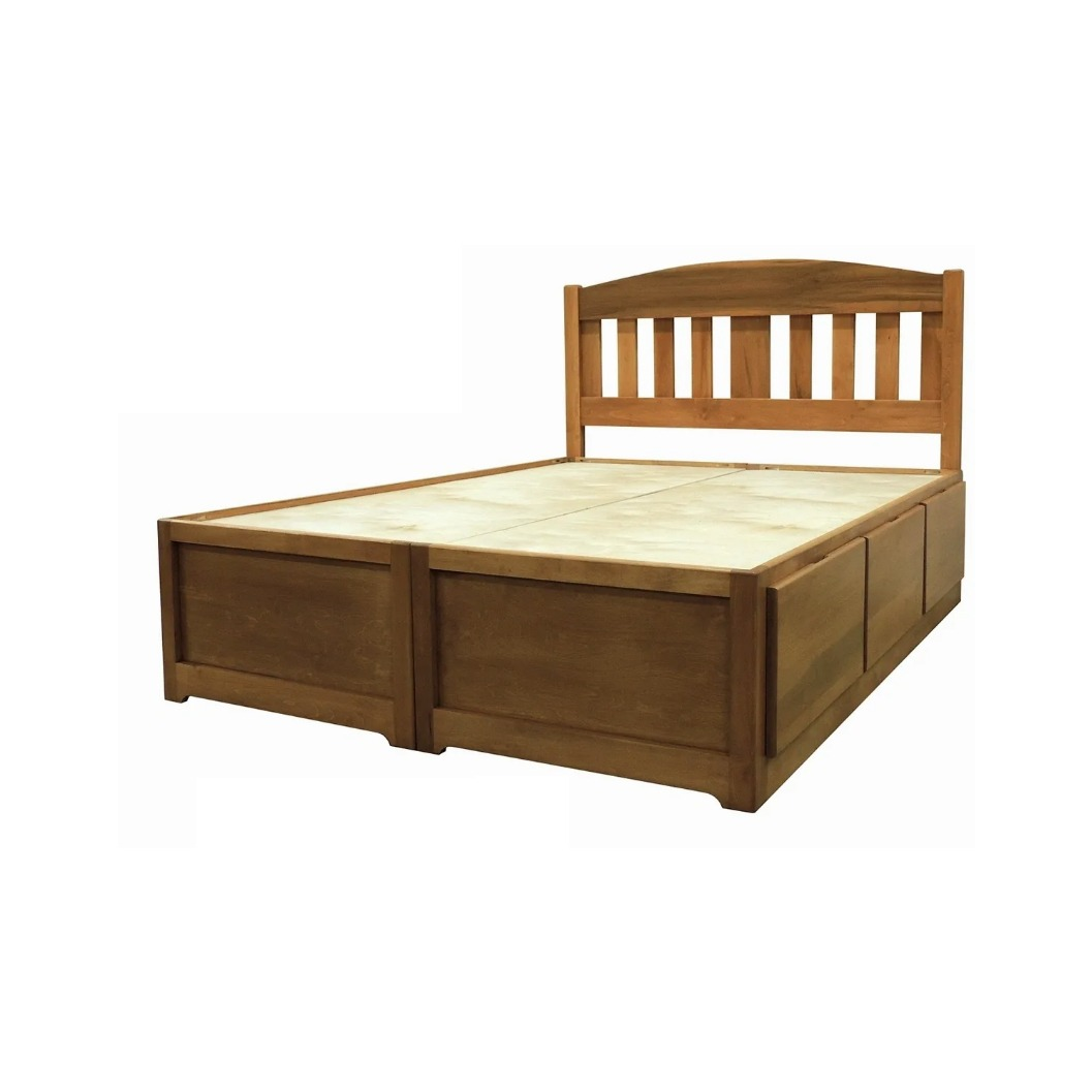MaineCraft Lakeside Queen Storage Bed