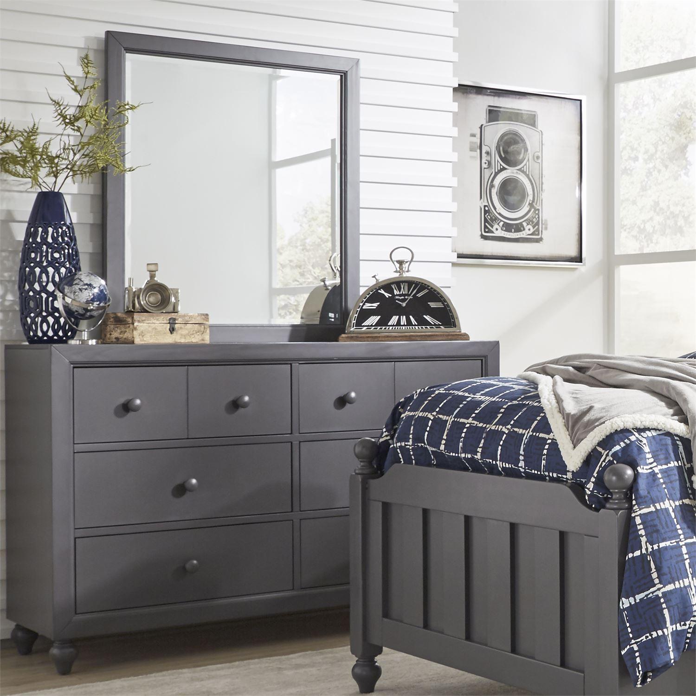Cottage View Dresser & Mirror