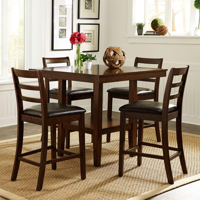 Hampton 5 piece gathering table set