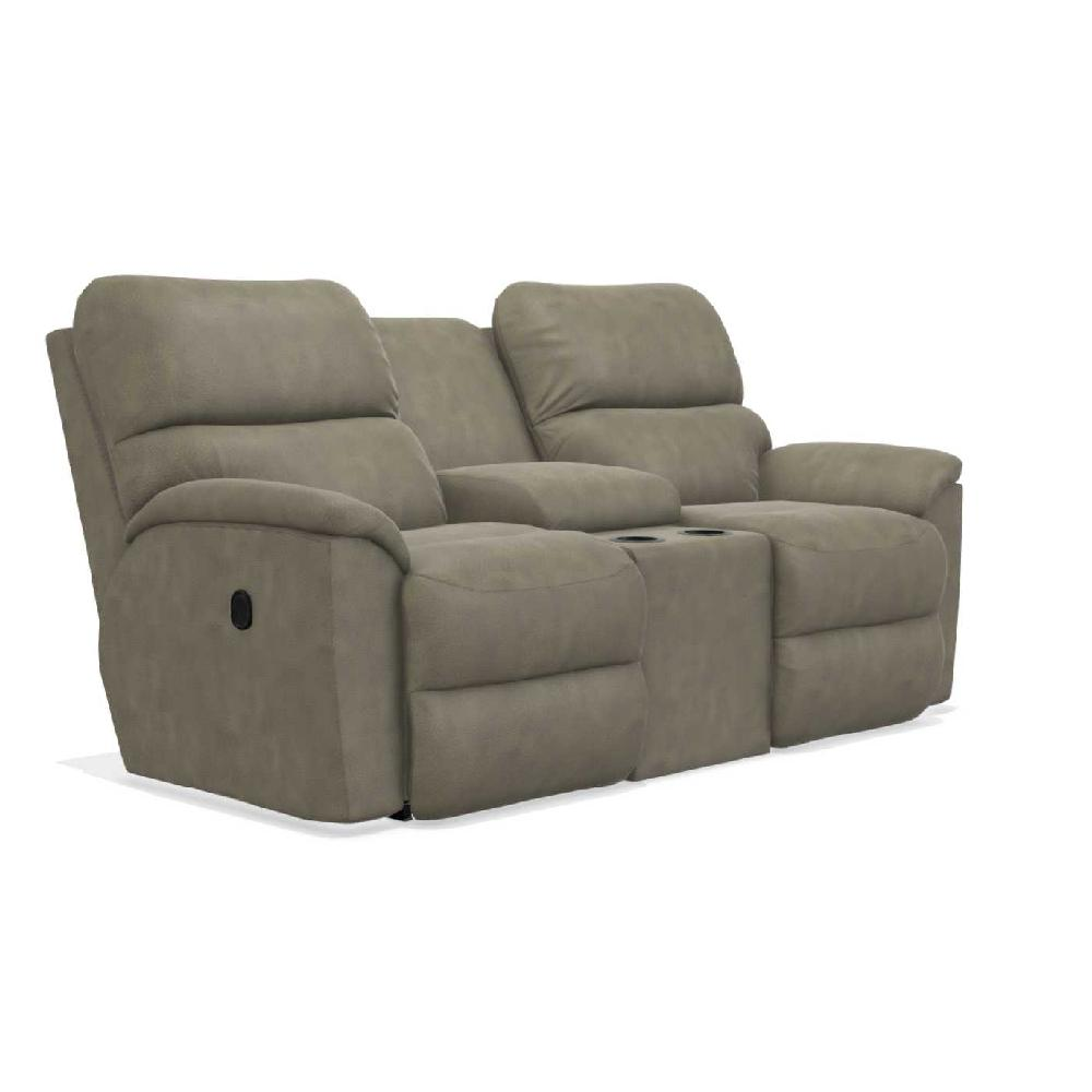 La-Z-Boy Brooks Reclining Loveseat w/ Console