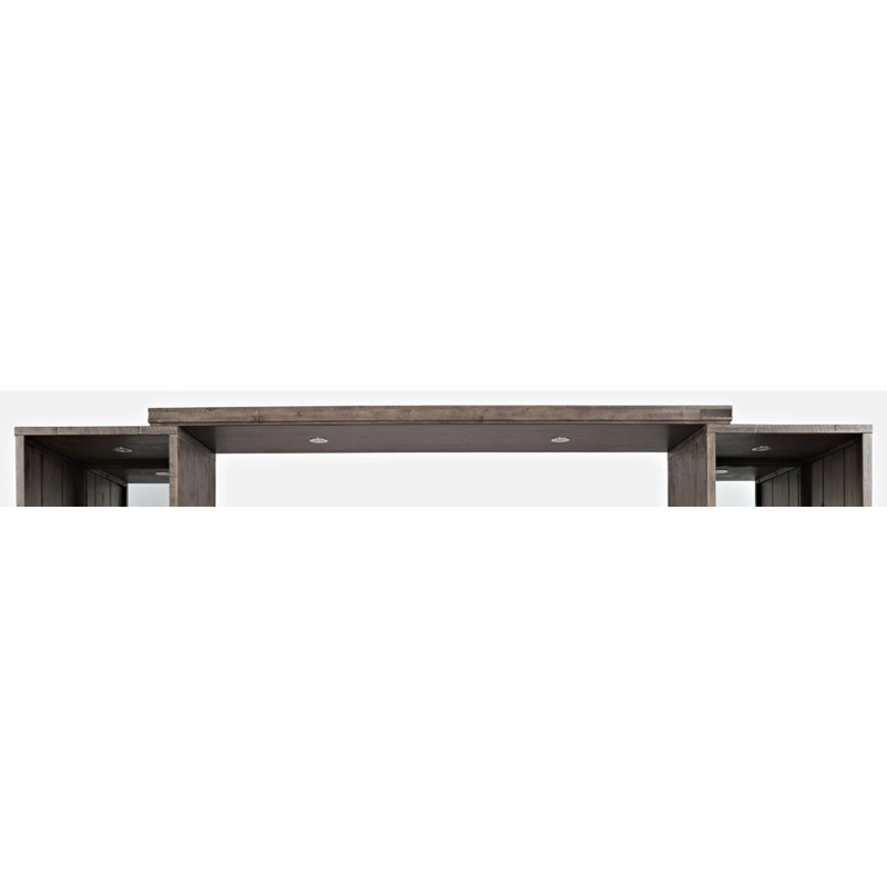 Jofran Furniture East Hampton Distressed Media Bridge